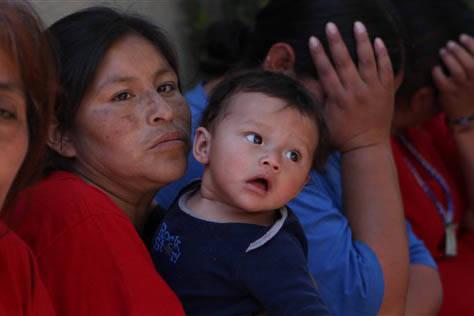 La maternidad en la etapa de embarazo, sigue como motivo de discriminación laboral en la Ciudad de México. (Archivo/AP Photo/Marco Ugarte).