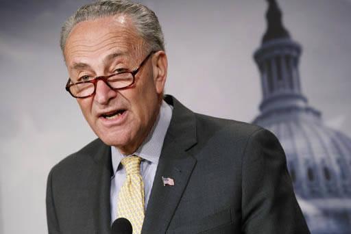 El senador Charles Schumer (D-NY), líder de los demócratas en el senado nacional, envió una carta al líder de la mayoría republicana en el senado, con la advertencia de que podrían paralizar ...