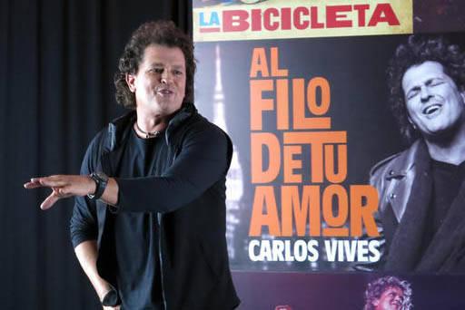 El cantautor colombiano Carlos Vives ofrecerá un concierto el próximo 5 de mayo en el Pearl del hotel palms de Las Vegas. (Archivo/AP Photo/Berenice Bautista).