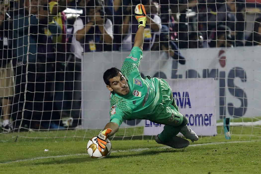 Nahuel Guzman.   Foto AP/Eduardo Verdugo