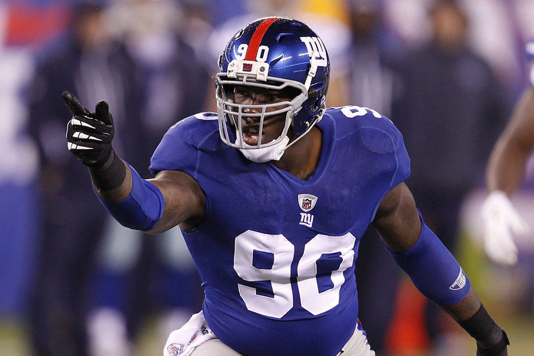 Jason Pierre-Paul. | Agencia