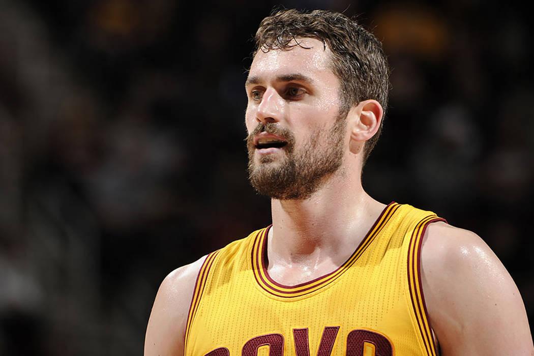 El ala-pívot de los Cleveland Cavaliers, Kevin Love. | Agencia