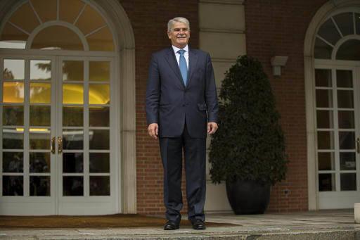 En visita a México el 17 de marzo del 2017, el ministro de Asuntos Exteriores de España, Alfonso Dastis Quecedo (en foto de archivo), ofreció apoyo a México ante distanciamiento con EEUU. (Fot ...