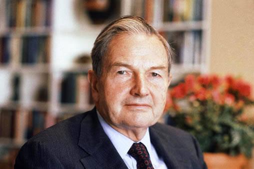 El billonario y filántropo David Rockefeller se ve en esta foto de archivo, de Abril 31 de 1981. Rockefeller falleció el lunes 20 de marzo del 2017, a los 101 años de edad. Perteneció a una de ...