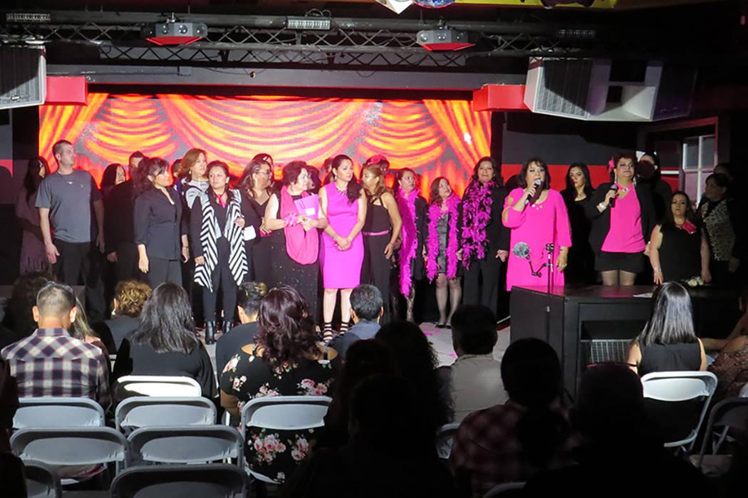 Más de 25 personas participaron en la realización de la novena edición en Las Vegas de 'Los Monólogos de la Vagina'. Sábado 25 de marzo en el club nocturno Flair. | Foto El Tiempo/Anthony ...