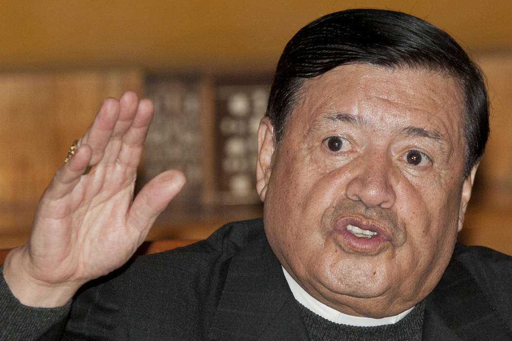 Cardenal Norberto Rivera. | AP Photo/Marco Ugarte