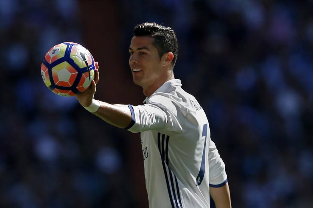 Cristiano Ronaldo. | Foto AP/Francisco Seco