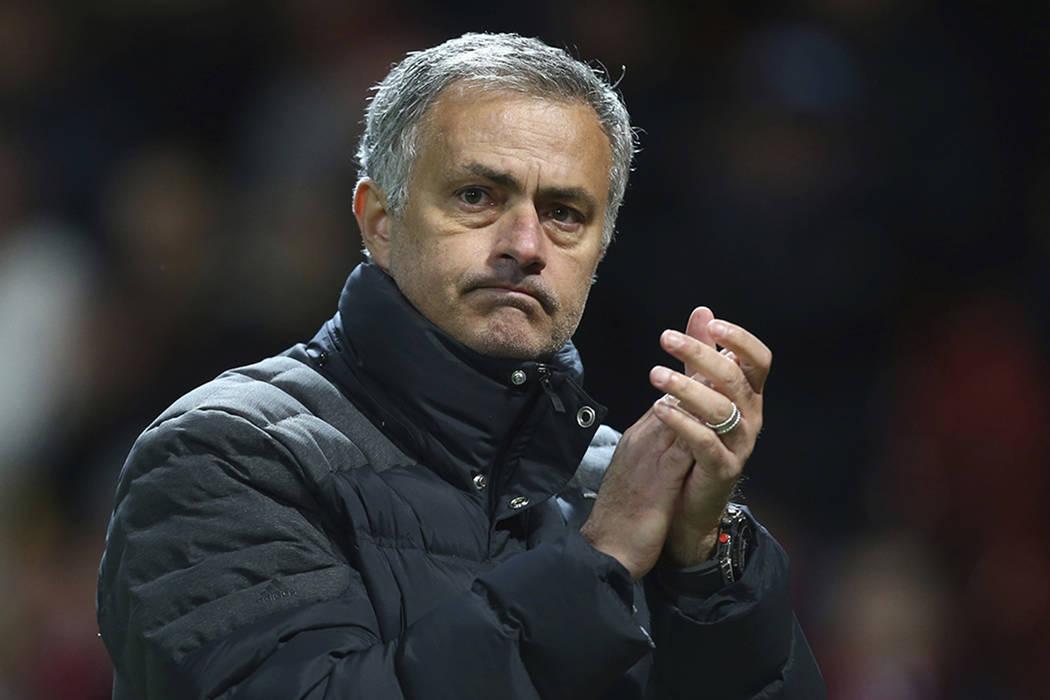 José Mourinho. | Foto AP/Dave Thompson