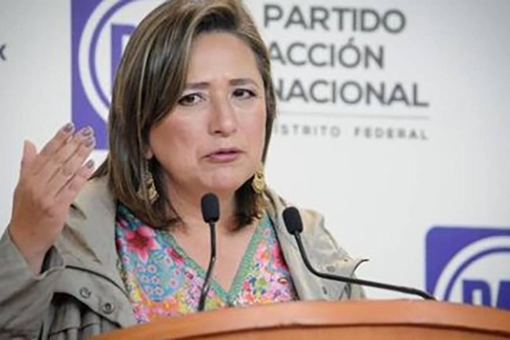 Delegada capitalina de Miguel Hidalgo, Xóchitl Gálvez. | Agencia