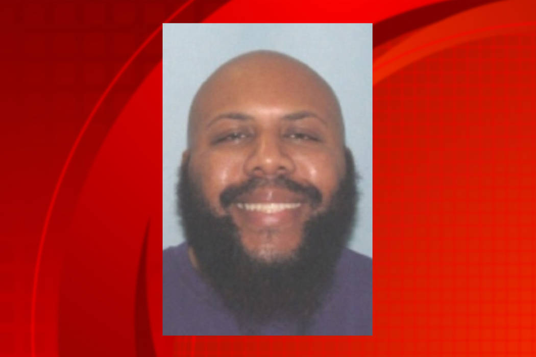Steve Stephens, de 37 años, mató a tiros de manera aleatoria a un hombre de 74 años.| Foto Cleveland Police vía AP