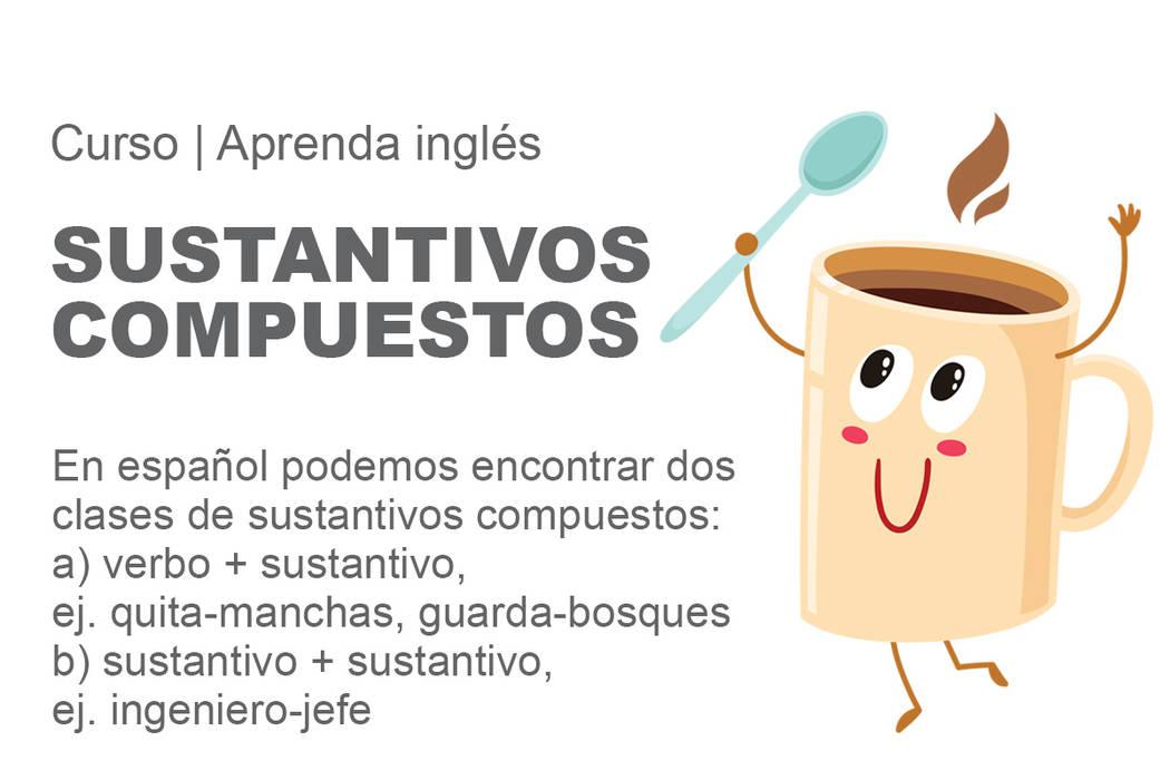 En español podemos encontrar dos clases de sustantivos compuestos.