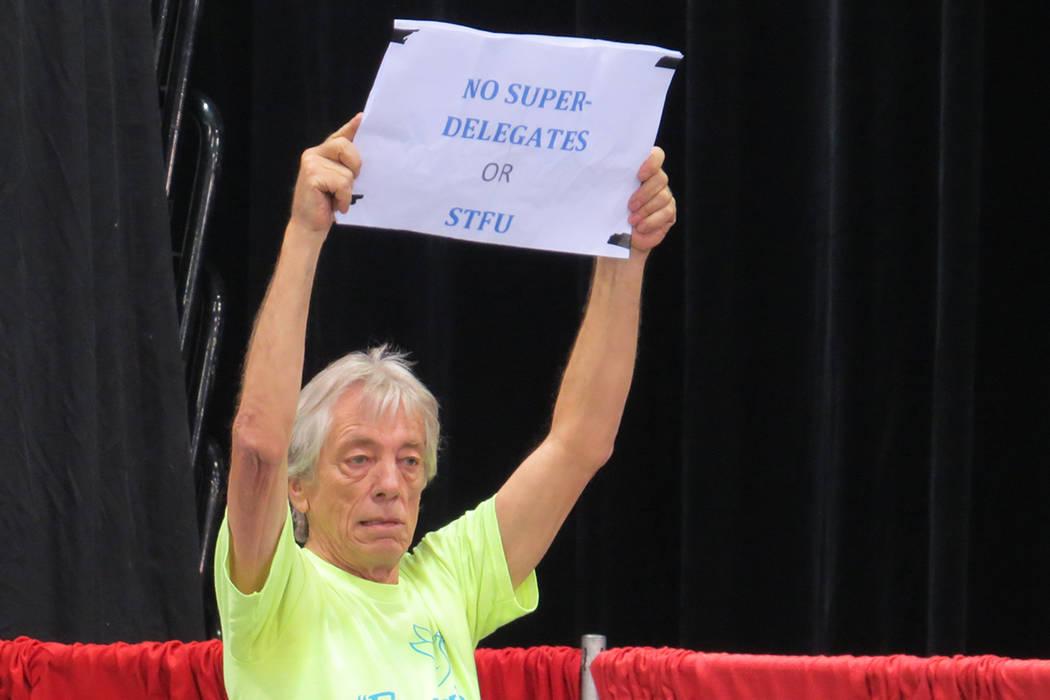 Para los mismos seguidores demócratas no todo es unión dentro del partido como lo planteó su el presidente de DNC, Tom Pérez, sábado 22 de abril en el pabellón Cox. Foto El Tiempo