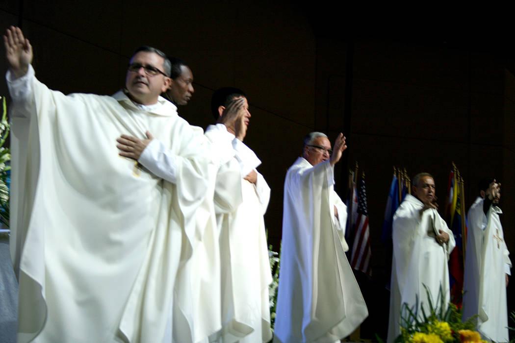 Aspecto de las jornadas del XXIV Encuentro de Renovación Carismática Católica en Las Vegas, Nevada. | Foto El Tiempo/Valdemar González