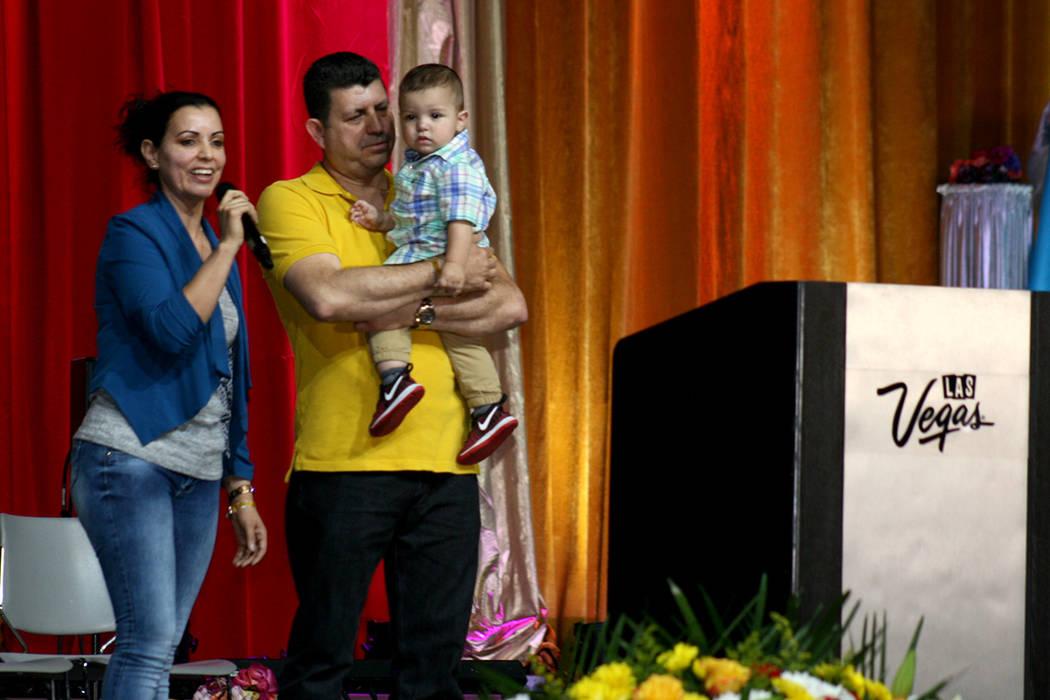 Miles participaron en el encuentro más grande de la comunidad católica hispana local, los pasados 29 y 30 de abril en el Cashman Center. | Foto El Tiempo/Valdemar González