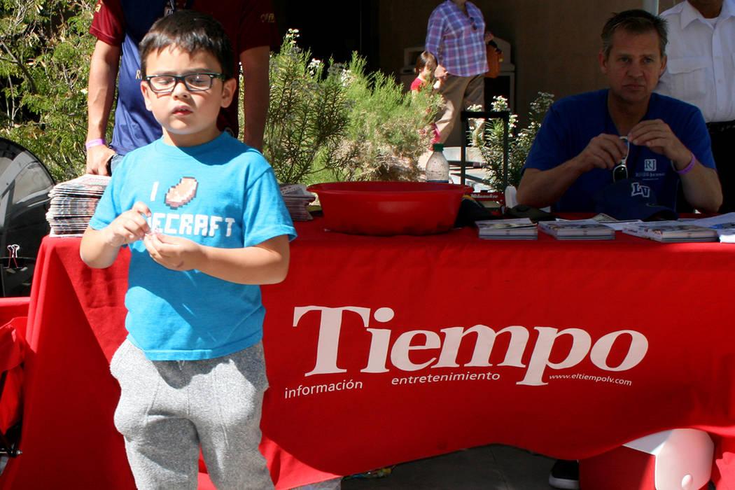 Magia, música, payasadas, desfile y guacamole fueron parte del evento infantil el sábado 29 de abril en la celebración del Día del Niño en Springs Preserve. | Foto El Tiempo/Valdemar González