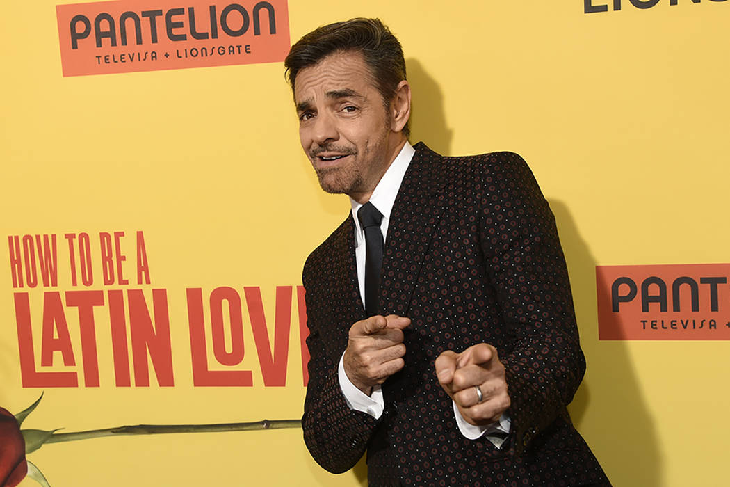 "Eugenio Derbez llega la premier de Los Ángeles de ""How to Be a Latin Lover"" en el Hollywood de ArcLight el miércoles, 26 de abril, 2017. 