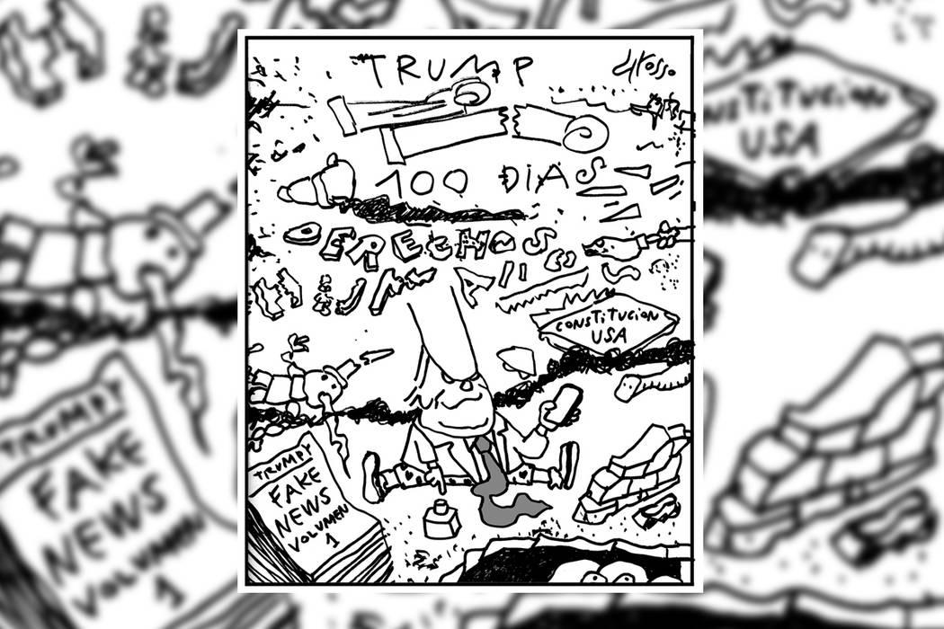 Un completo desastre.   Ilustración por Grosso/Especial para El Tiempo