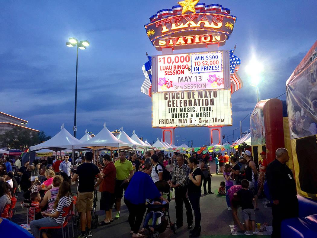 Festival de Cinco de mayo de El Tiempo en el hotel casino de Texas Station en North Las Vegas el viernes 5 de mayo de 2017. Foto El Tiempo/Liliana Razo