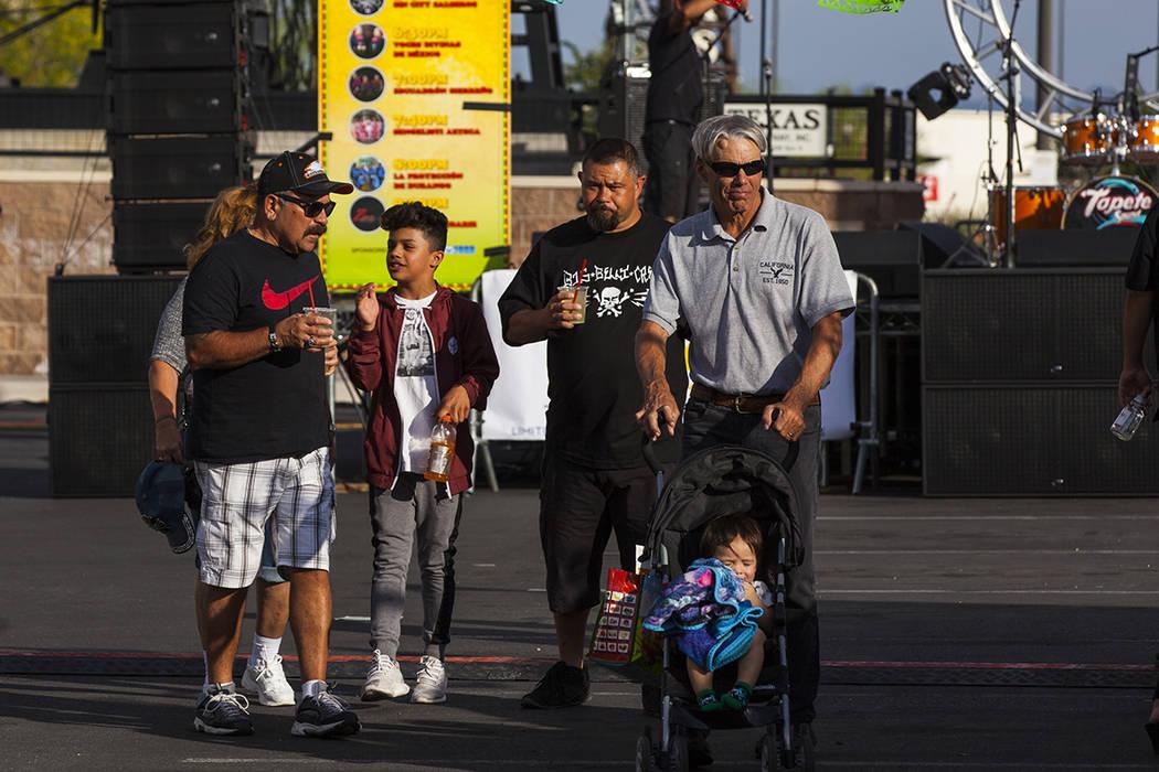 Festival de Cinco de mayo de El Tiempo en el hotel casino de Texas Station en North Las Vegas el viernes 5 de mayo de 2017. Miranda Alam Las Vegas Review-Journal