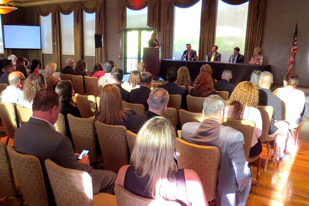 Más de 150 agentes de bienes raíces del sur de Nevada asistieron al evento informativo organizado por NAHREP. Miércoles 3 de mayo en Dragon Ridge Country Club. | Foto El Tiempo/Anthony Avellaneda