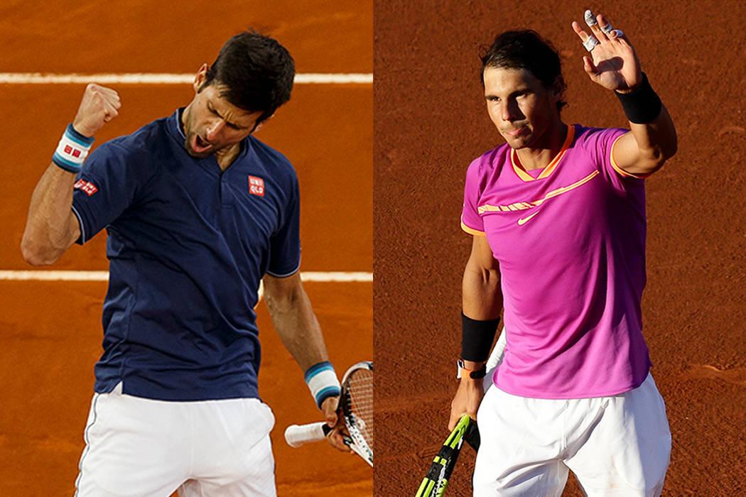 El defensor del título Novak Djokovic. El serbio se medirá en semis con el español Rafael Nadal, vencedor de David Goffin 7-6 (3), 6-2. | Fotos AP