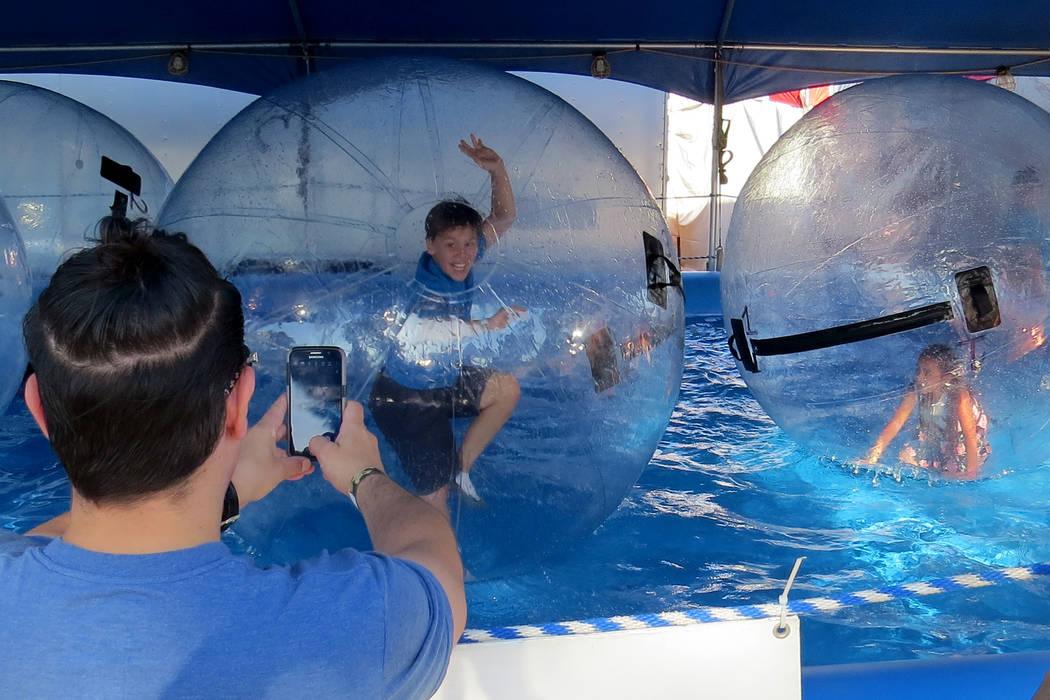 SG 9: Con distintas actividades interactivas, los niños pudieron disfrutar de la edición 38 del Festival San Gennaro. Miércoles 10 de mayo en el parque Craig Ranch. Foto El Tiempo.