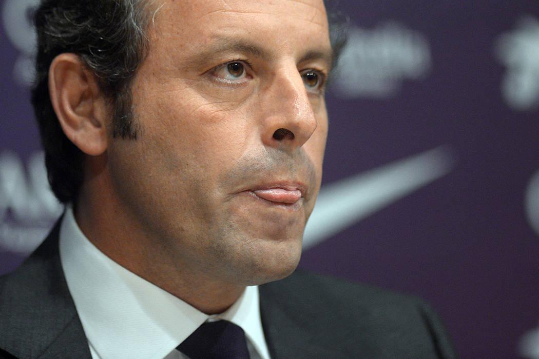 Sandro Rosell, expresidente del Barcelona. | Foto AP/Manu Fernandez.