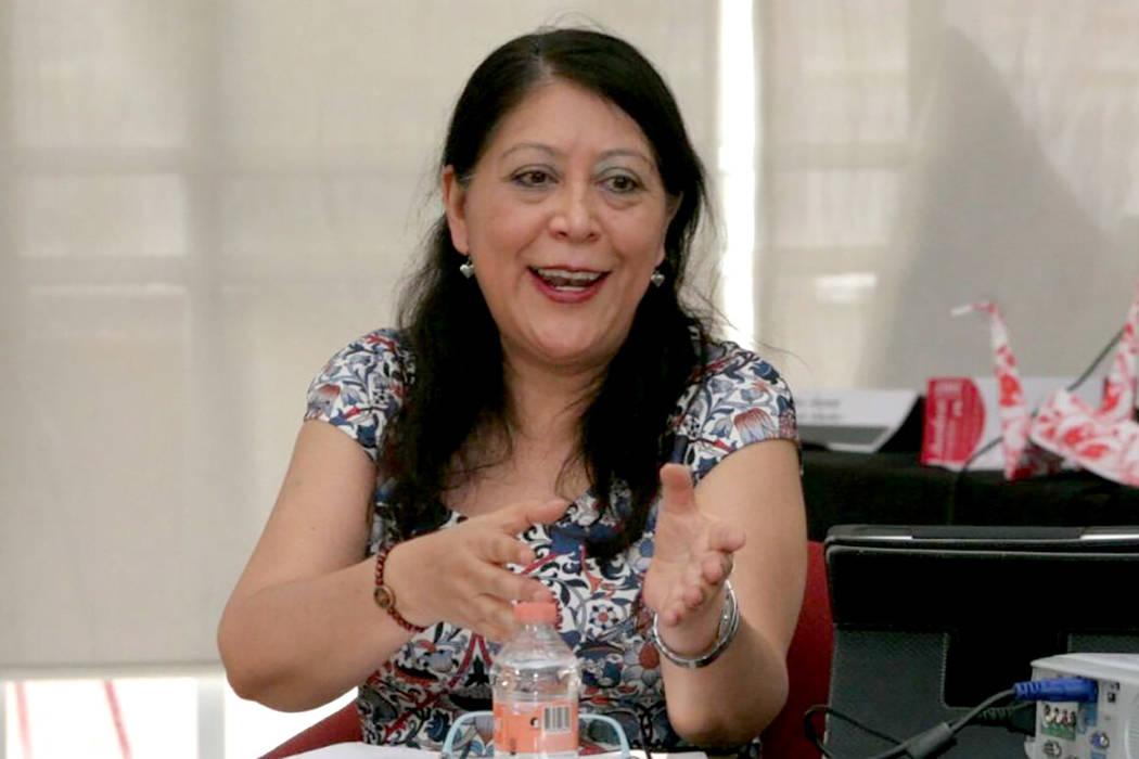 Iris Rocío Santillán, abogada criminóloga feminista y académica. | Foto Cortesía Tribuna Chiapas.