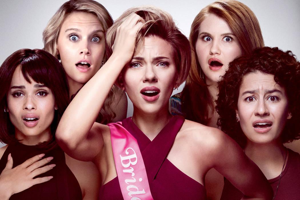 Esta película de comedia es dirigida por Lucia Aniello, las protagonistas de 'Una noche fuera de control' – Rough Night son Scarlett Johansson, Zoë Kravitz e Ilana Glazer.