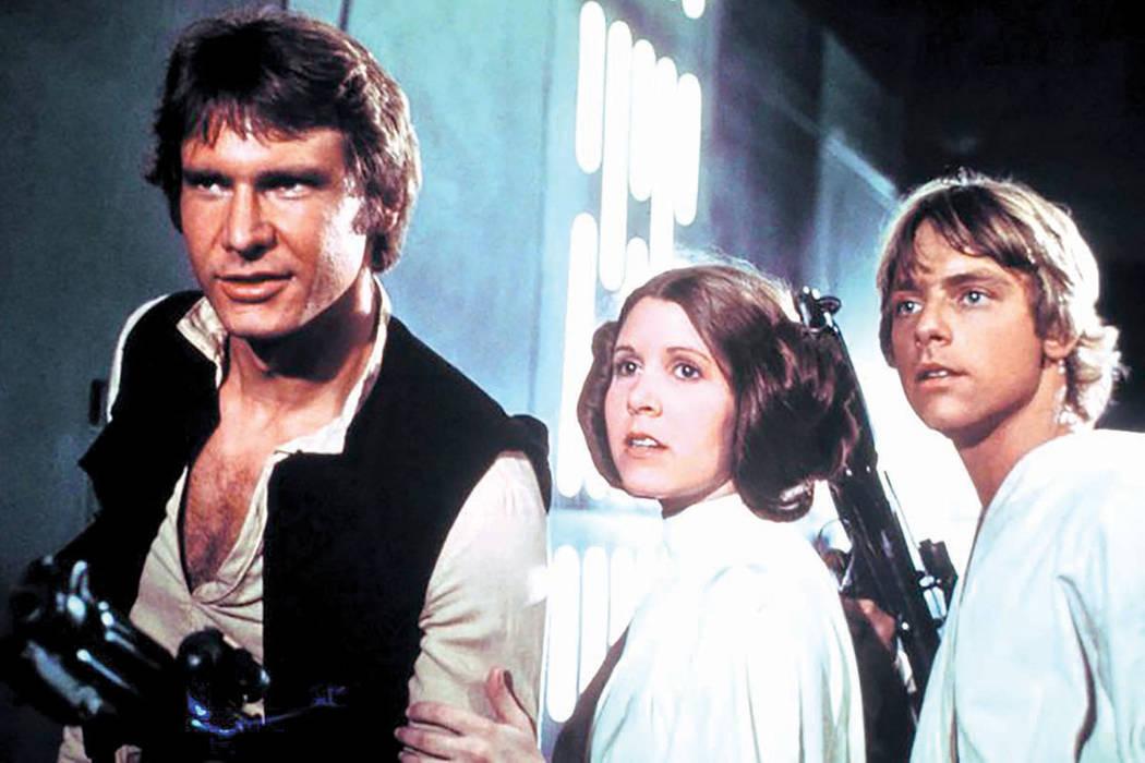 """El 25 de mayo de 1977 se estrenó """"Star Wars - A New Hope"""", la primera película del universo ideado por George Lucas y que con Harrison Ford, Mark Hamill y Carrie Fisher como protagonistas ar ..."""