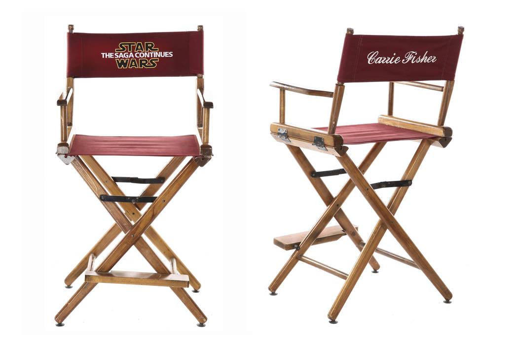 Star Wars: Episodio VI - El Retorno del Jedi. Star Wars: Episodio VI - El Retorno del Jedi. La silla está entre muchos artículos que pertenecen a Fisher ya su madre Debbie Reynolds que estará p ...