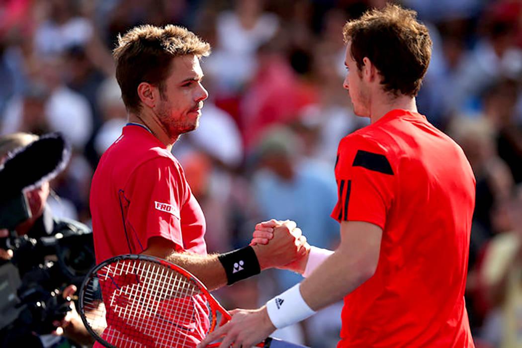 Stan Wawrinka y Andy Murray. | Agencia