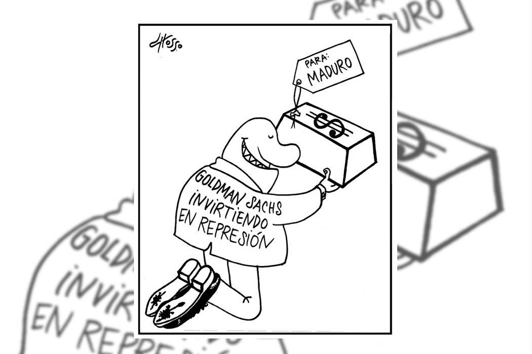 Trump. | Ilustración por Grosso/Especial para El Tiempo.
