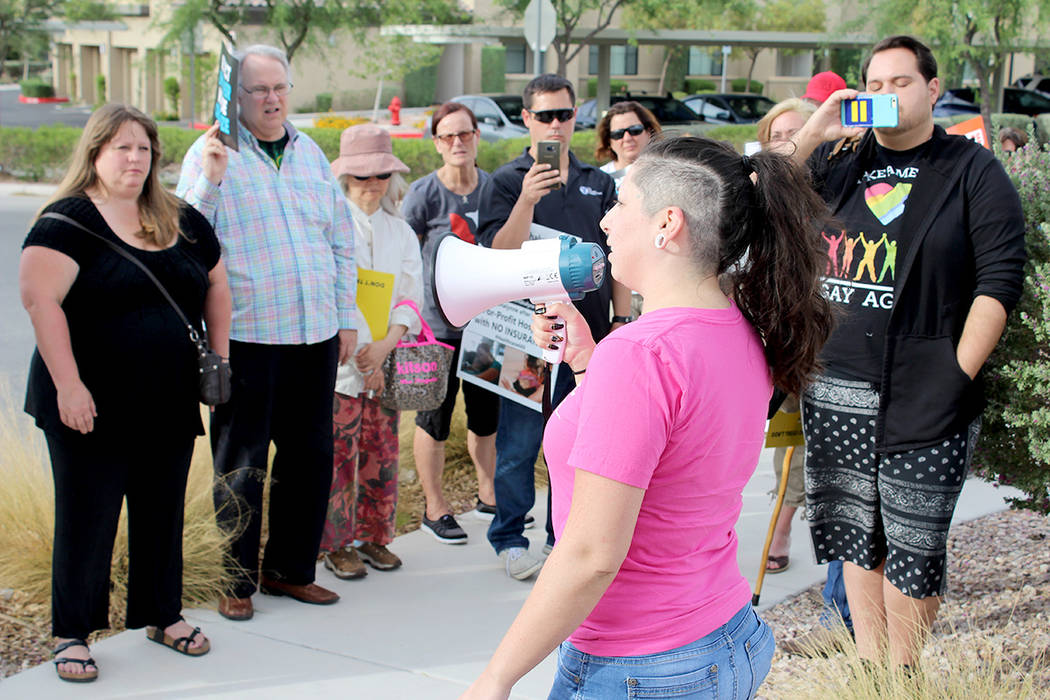 Shay Elyse, paciente de lupus, cuenta con el Obama Care para su atención. | Foto El Tiempo/Cristian De la Rosa.