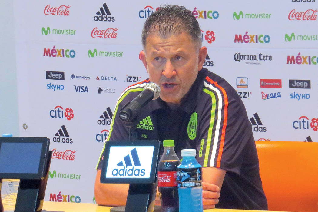Bruce Arena (EU) y Juan Carlos Orozco (MX) compartieron sus impresiones de lo que fue el partido. Domingo 11 de junio en Estadio Azteca de la Ciudad de México. | Anthony Avellaneda/ El Tiempo- En ...