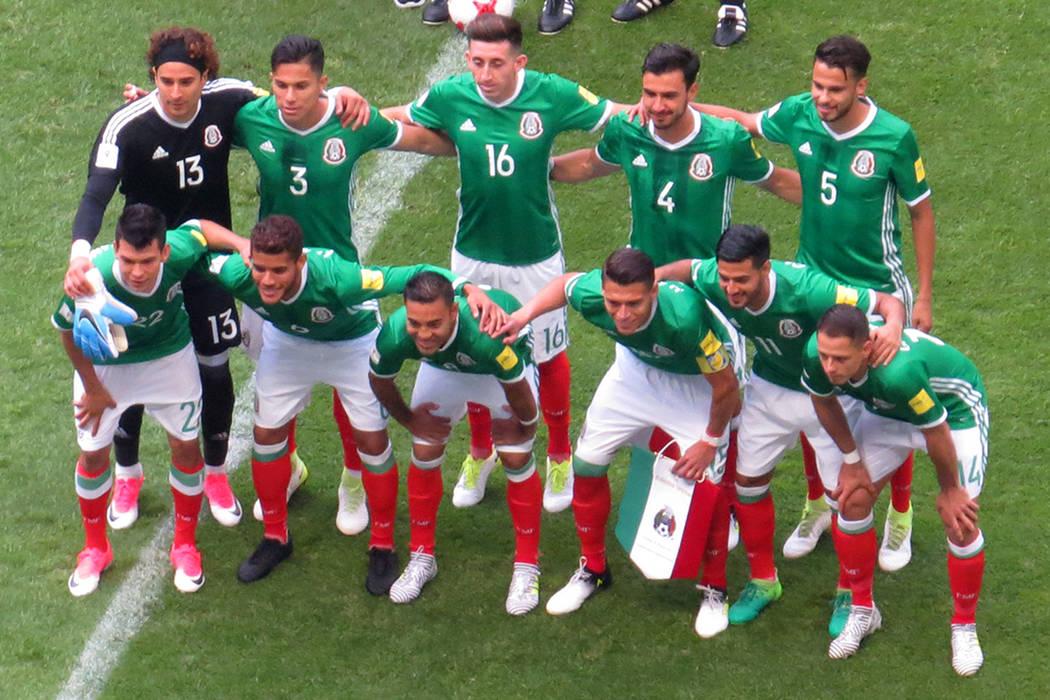 La Selección de México tenía la obligación de hacer valer su localía. Domingo 11 de junio en Estadio Azteca de la Ciudad de México. | Anthony Avellaneda/ El Tiempo- Enviado Especial.