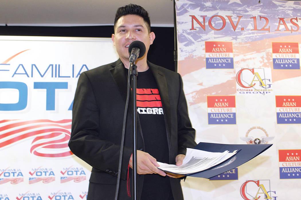 Welcome.US, fueron los organizadores del evento y su representante Eduardo Montoya dijo que hay tiempo para celebrar. | Cristian De la Rosa/El Tiempo