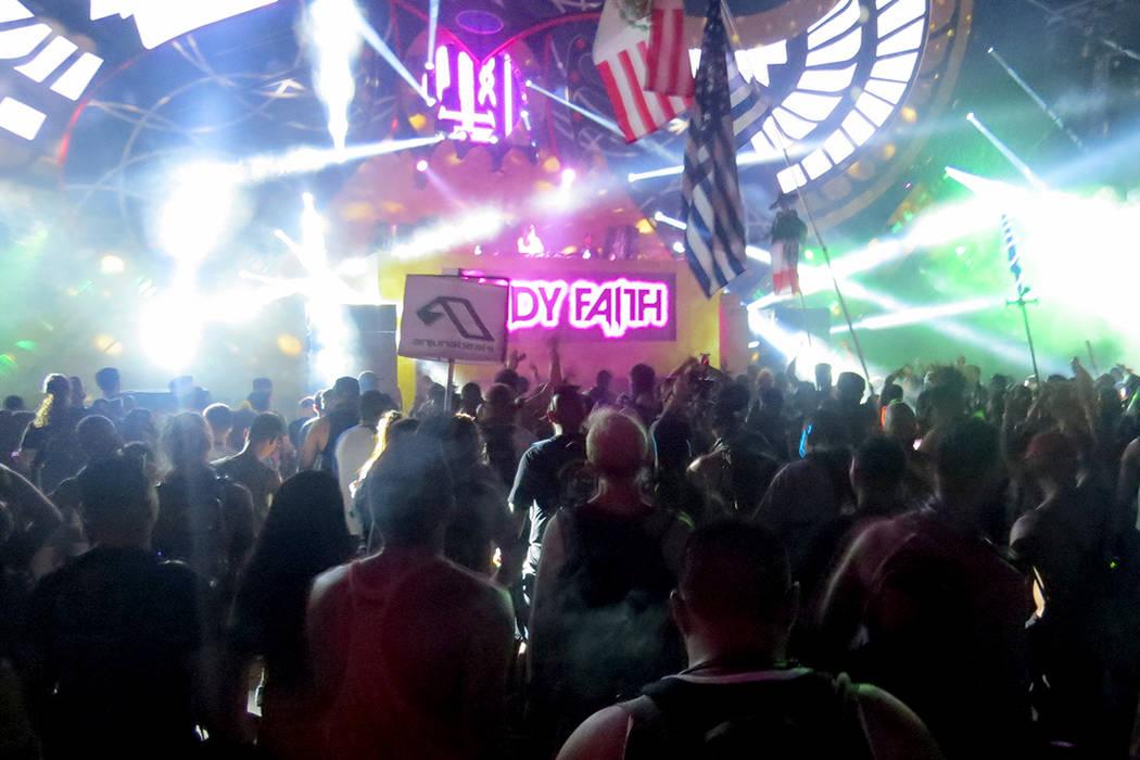 Los escenarios mostraron un imponente efecto visual. Del 16 al 19 de junio en EDC Las Vegas. | Foto Anthony Avellaneda/ El Tiempo.