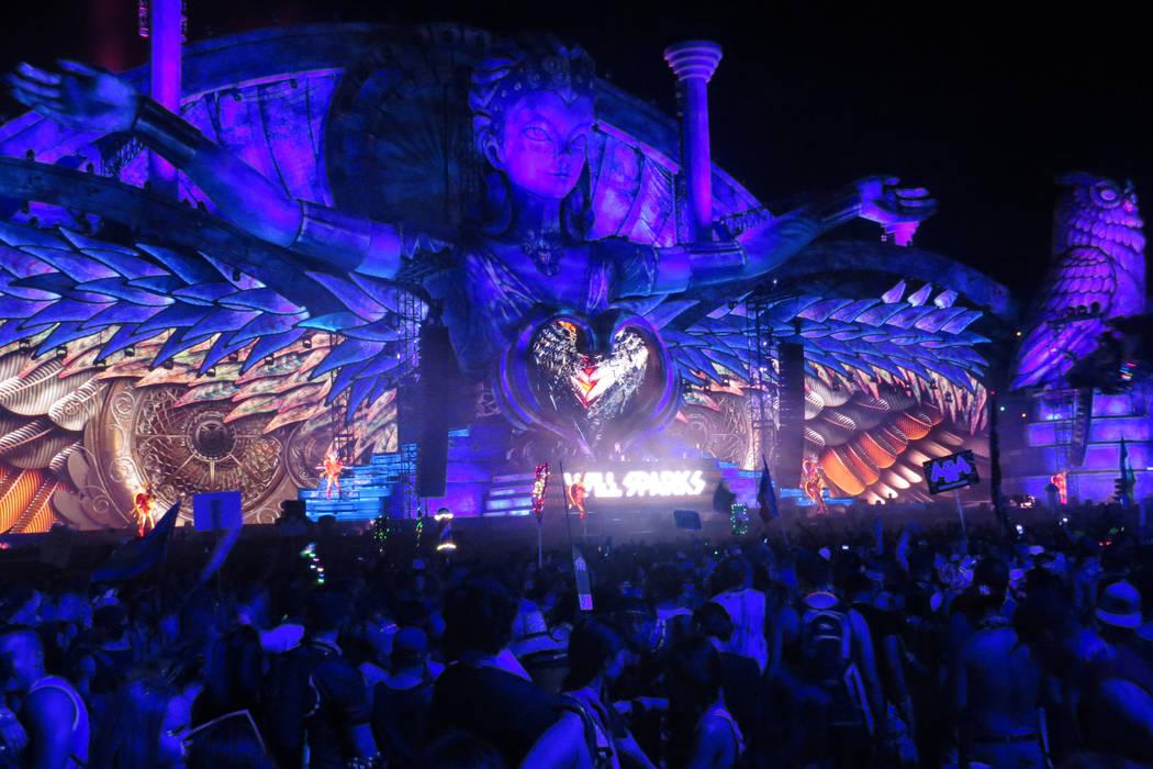 Los escenarios mostraron un imponente efecto visual. Del 16 al 19 de junio en EDC Las Vegas.| Foto Anthony Avellaneda/ El Tiempo.