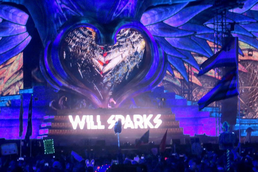 DJ Will Sparks emocionó a su público durante cada segundo de su intervención. Del 16 al 19 de junio en EDC Las Vegas. | Foto Anthony Avellaneda/ El Tiempo.