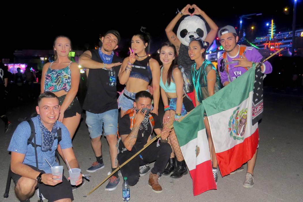 Los jóvenes de Las Vegas también se hicieron presentes en el evento. Del 16 al 19 de junio en EDC Las Vegas. | Foto Anthony Avellaneda/ El Tiempo.