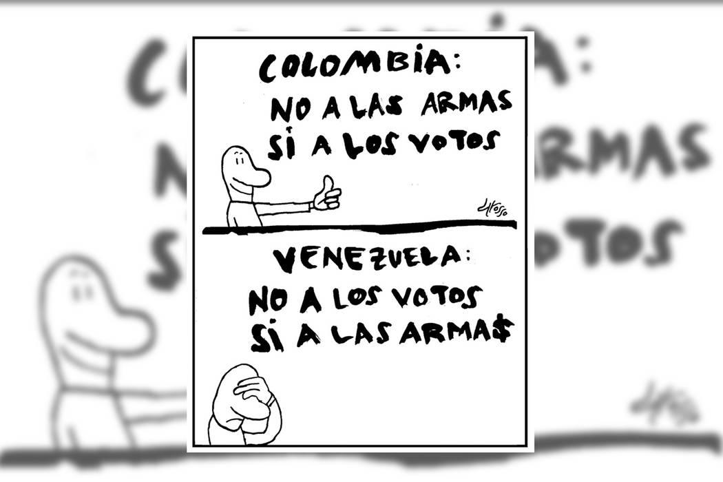 Tremenda paradoja.   Ilustración por Grosso/Especial para El Tiempo.