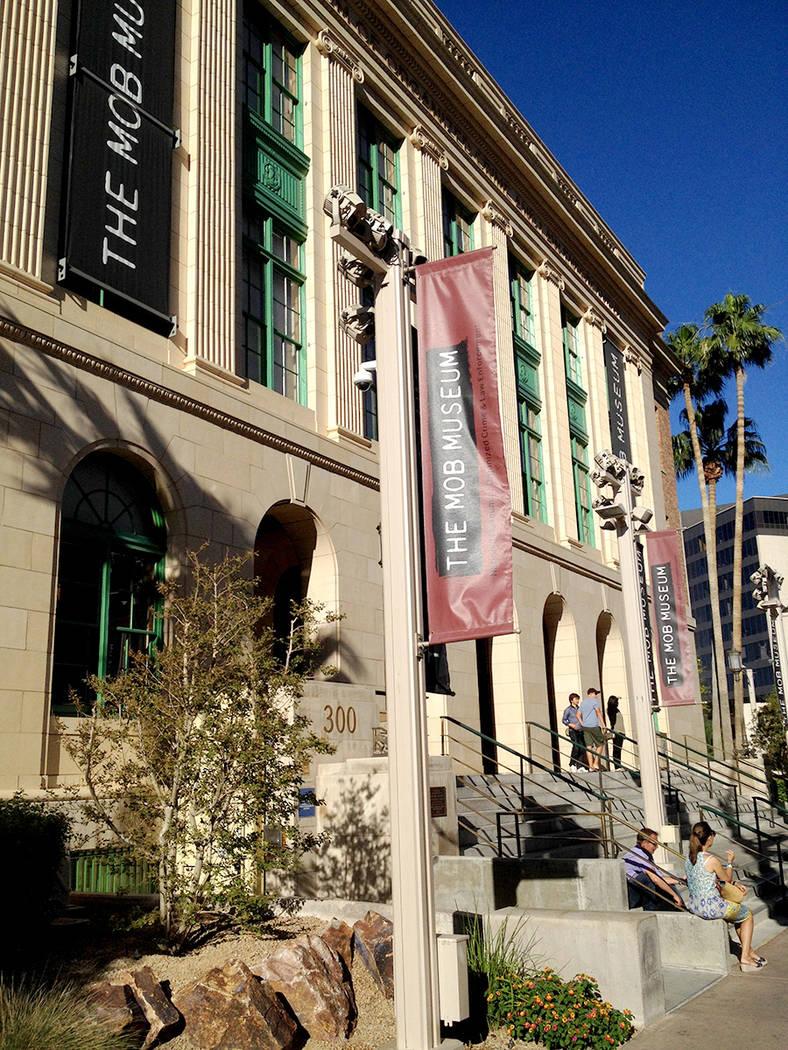 El edificio que alberga al Museo de la Mafia, en el 300 E. Stewart, en el centro de LV. | Foto Valdemar González/El Tiempo.