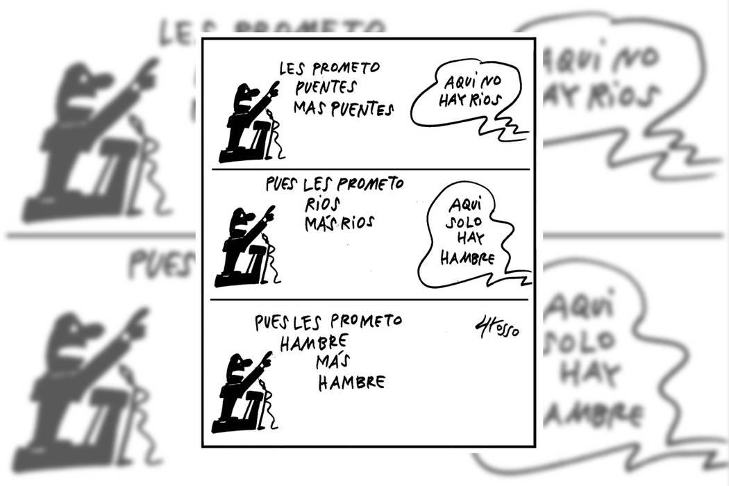 El cuento electoral de  siempre. | Ilustración por Grosso/Especial para El Tiempo