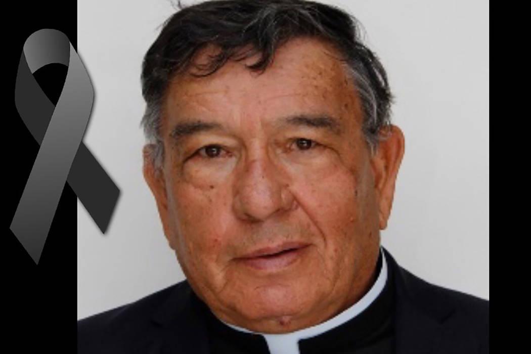 Sacerdote Luis López Villa, de 73 años. | Foto Cortesía