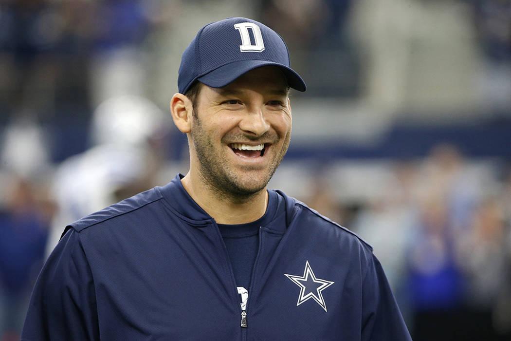Tony Romo. | AP /Ron Jenkins.