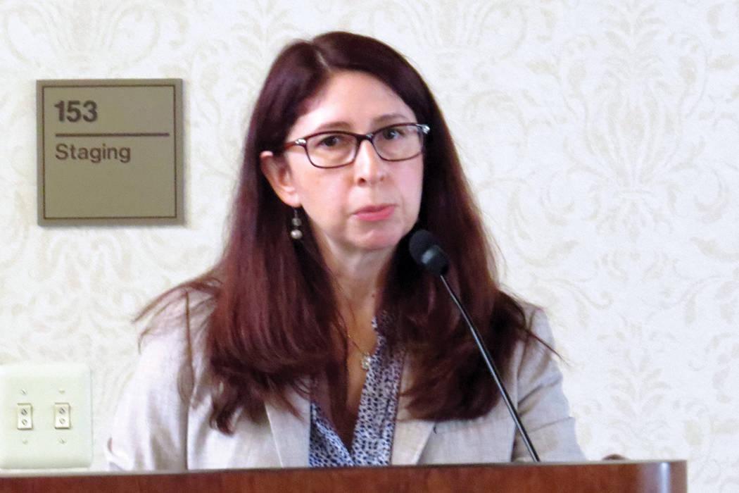 La profesora de UNLV, Magdalena Martínez, ha participado en la organización del evento desde que se creó hace 24 años. Martes 11 de julio en UNLV. Foto El Tiempo.
