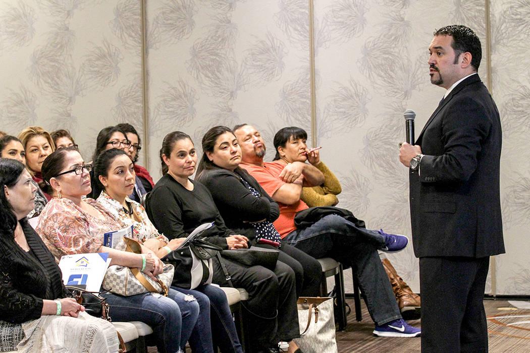 El corredor de bienes raíces Flavio Jiménez, apuntó que en 8 años se va a llegar a la punta económica en Las Vegas. | Foto El Tiempo