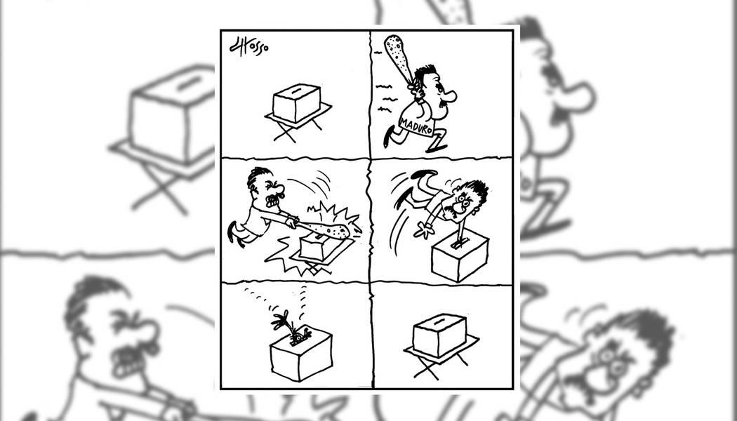 Anhelo de America. | Ilustración por Grosso/Especial para El Tiempo.