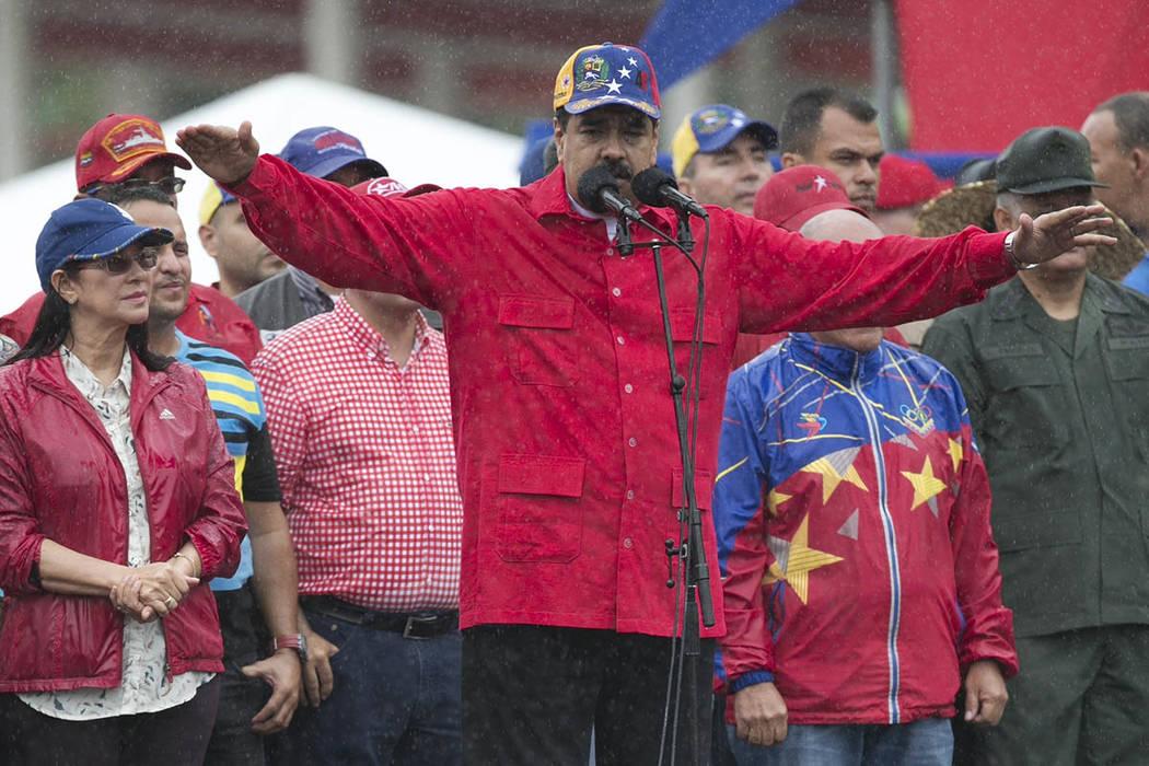 Presidente de Venezuela Nicolas Maduro. |  Foto AP/Ariana Cubillos.